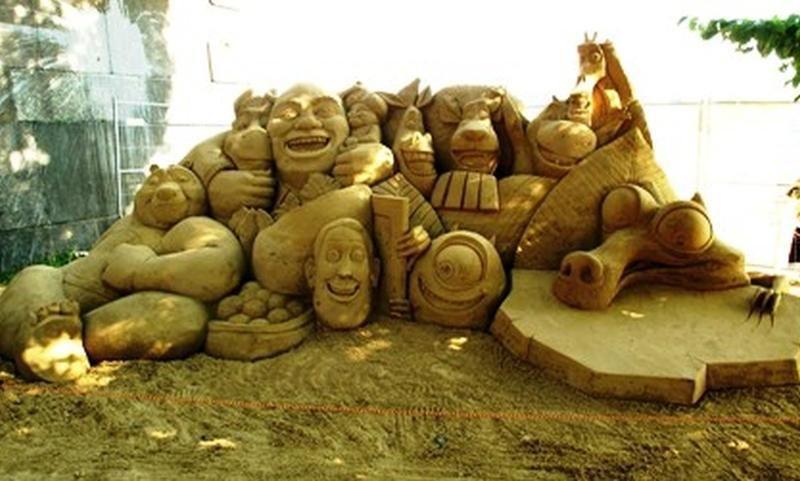 Palangoje atidaromas įspūdingų smėlio skulptūrų parkas (foto)