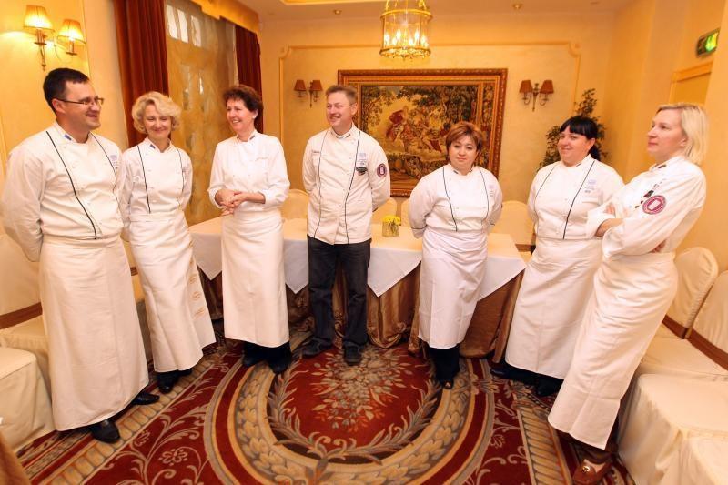 Lietuvos virtuvės šefai vyksta į olimpiadą