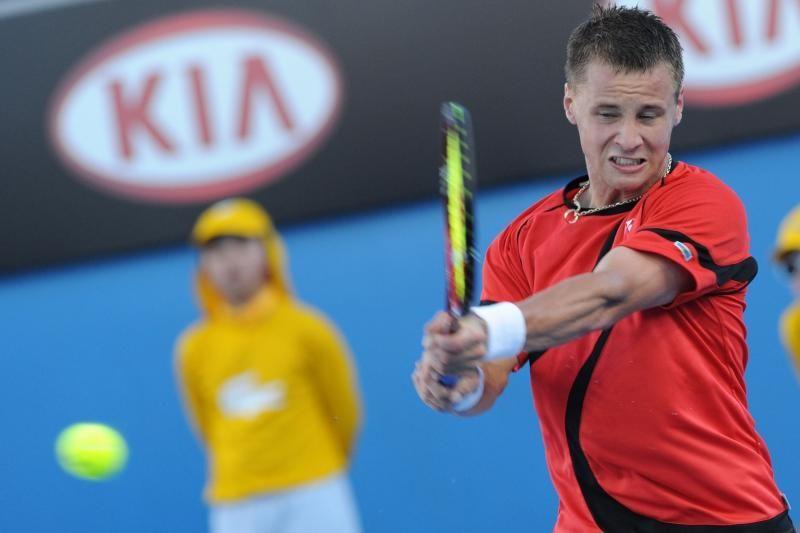 R.Berankis teniso turnyre Belgijoje suklupo pusfinalyje