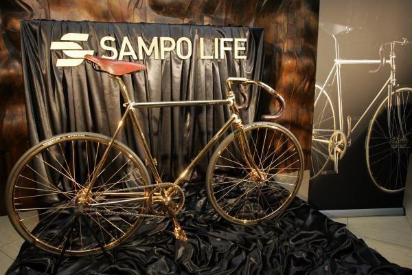 Vilniuje pristatytas brangiausias pasaulyje dviratis