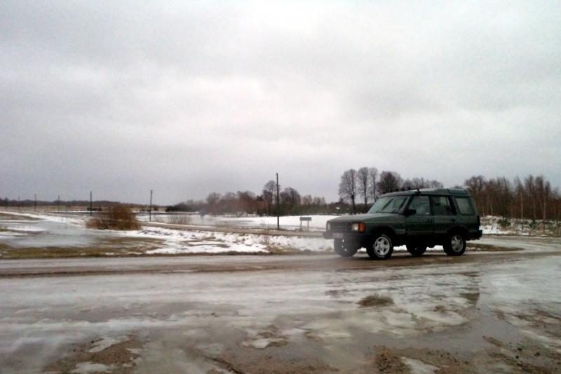 Tarp Šilutės ir Rusnės - artėjančio potvynio ženklai (papildyta)