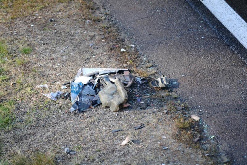 Prie Kauno sutraiškytas automobilis, sužeista vairuotuoja