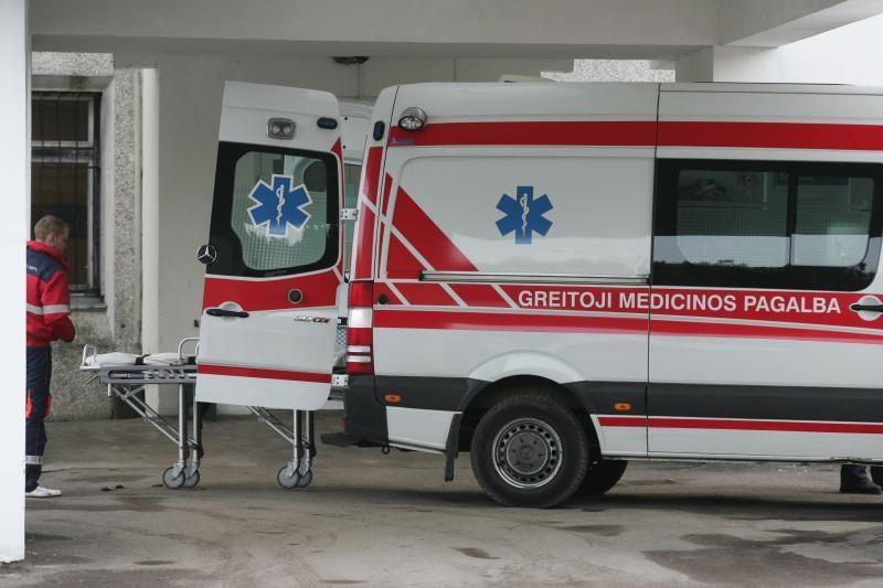 Klaipėdoje pro psichiatrinės ligoninės langą iškrito devyniolikmetis