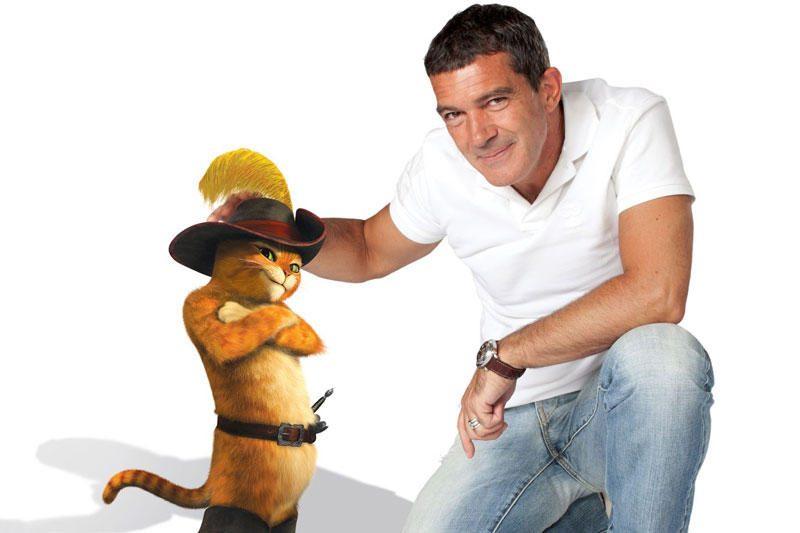 A.Banderasas įgarsino savo animacinį prototipą