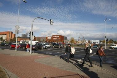 Architektai nenori matyti tilto į Klaipėdos areną