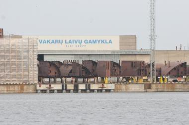 """""""Vakarų laivų gamyklos"""" pajamos išaugo 63 proc."""