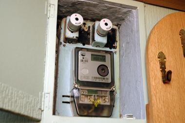 Elektros skaitiklis klaipėdietei įvarė šoką