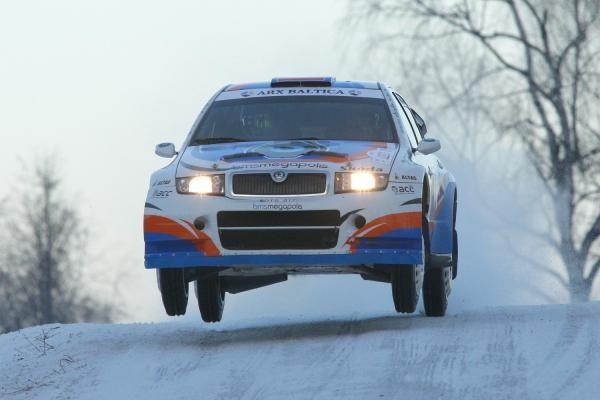 """""""Halls Winter Rally 2010"""" dalyvių sąraše – net 70 ekipažų"""