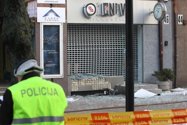 Prie Laisvės alėjos parduotuvės - sprogimas (papildyta)