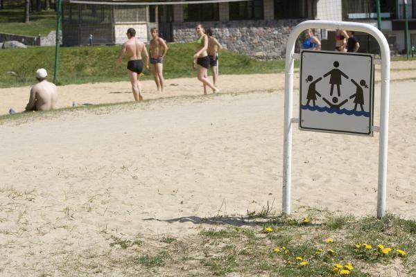 Vilniaus paplūdimiai ruošiami vasarai
