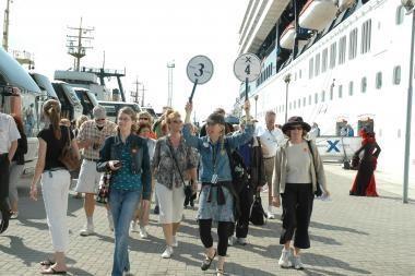 Klaipėdoje daugėja turistų