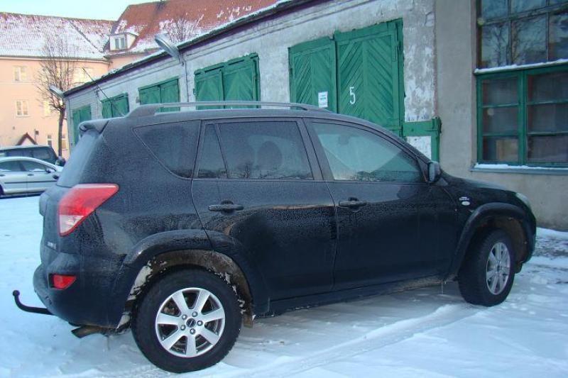 Klaipėdos uoste pasieniečiai sulaikė, įtariama, vogtą mašiną