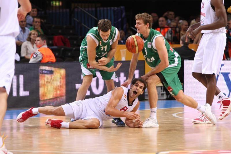 Slovėnijai parako neužteko: ispanai keliauja į pusfinalį