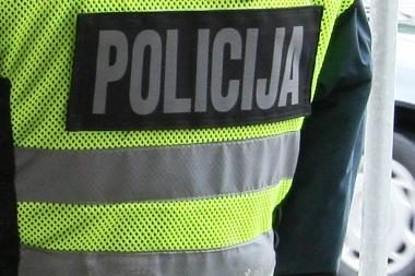Neblaivus klaipėdietis policininkui įkando į koją