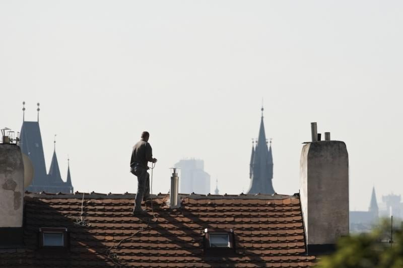 Klaipėdos apskrityje liepsnojo kaminai