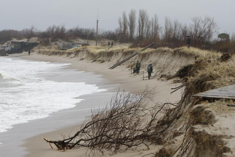 Palangos valdžia paplūdimius smėliu nori papildyti iki gegužės mėnesio