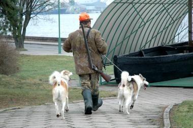 Policija ir aplinkosaugininkai rengs bendrus reidus medžiotojų ginklams ir blaivumui tikrinti