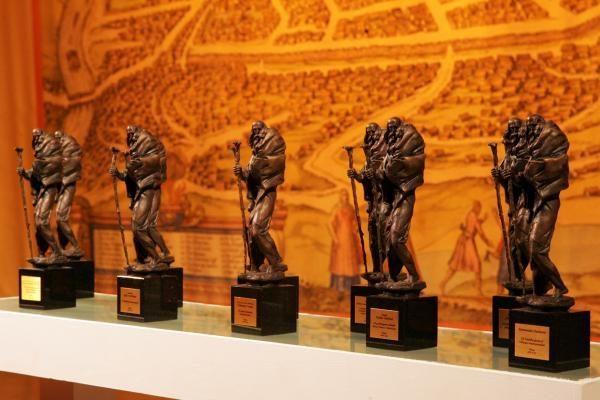 Įteiktos Šv. Kristoforo statulėlės nusipelniusiems vilniečiams