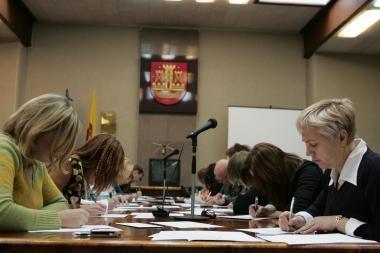 Savivaldybė ragina dalyvauti Nacionalinio diktanto konkurse