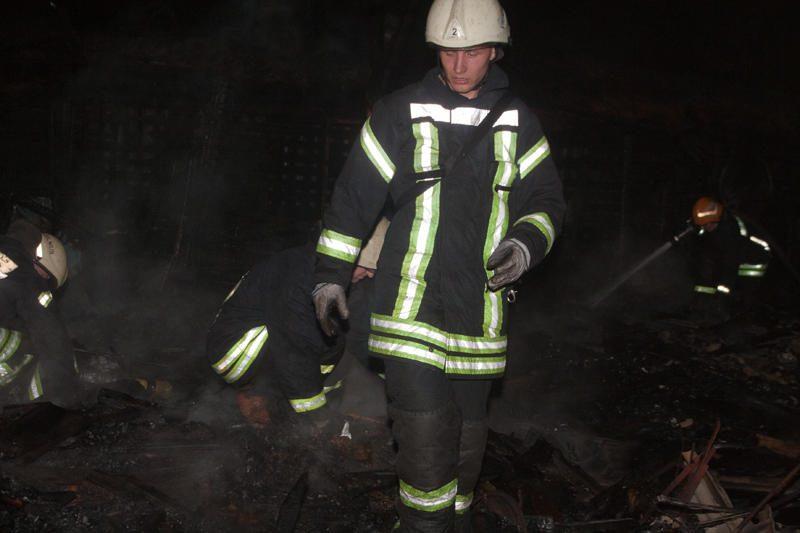 Dėl Žvėryne kilusio gaisro buvo uždaryta gatvė
