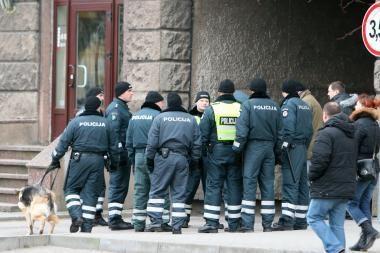 Klaipėdos policininkai piketuos kitą savaitę