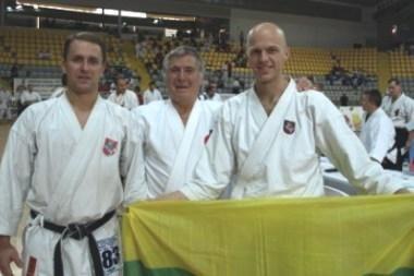 G.Švetkauskui - Europos fudokan šotokan karatė do čempionato bronza