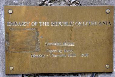 R.Bernotas paskirtas ambasadoriumi Kazachstane