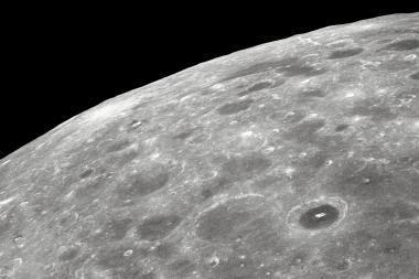 NASA: Mėnulis tikrai yra sidabrinis