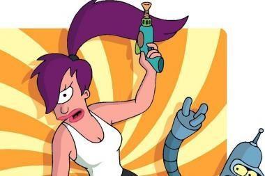 """""""Simpsonų"""" mėgėjams - TV6 serialas """"Futurama"""""""