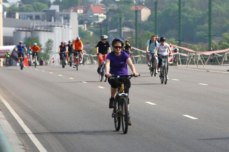 Kaune sekmadienį surengtas dviračių maratonas