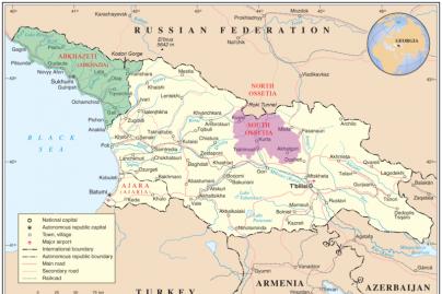 Abchazija prašo Rusijos pripažinti jos nepriklausomybę