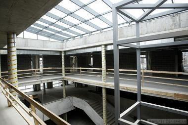 Nors Balsių mokykla dar tik statoma, laisvų vietų lieka vis mažiau