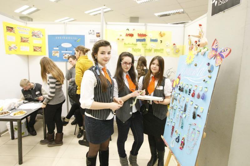 Klaipėdos moksleiviai pristatė savo verslo idėjas