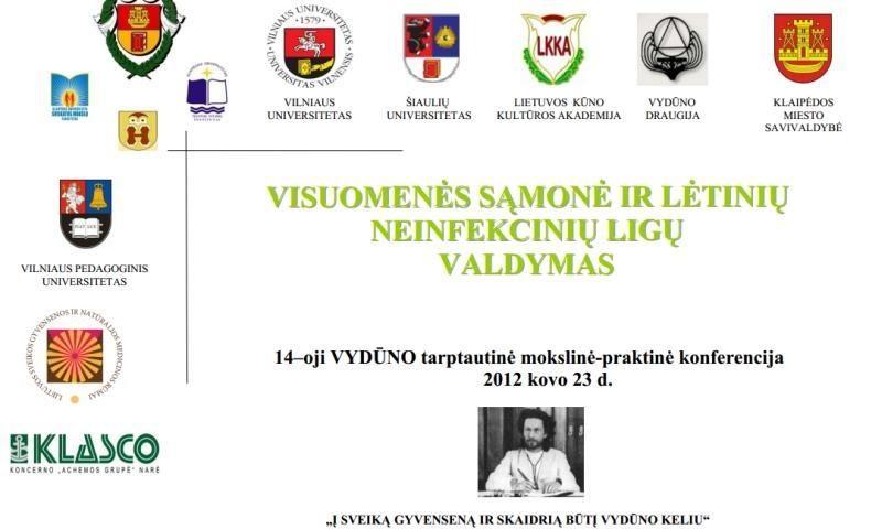 Klaipėdoje vyks 14-oji Vydūno tarptautinė konferencija