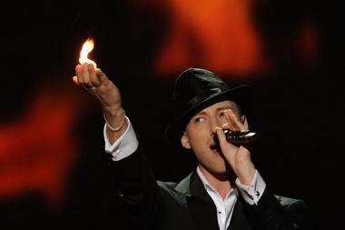 """Eurovizijos"" finale Sasha Son(g) nusiteikęs kovai"