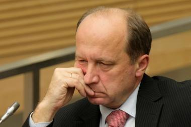 A.Kubilius: Priežiūros komiteto už priimtą sprendimą smerkti negalima