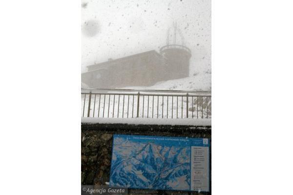 Lenkijoje ir Latvijoje - sninga