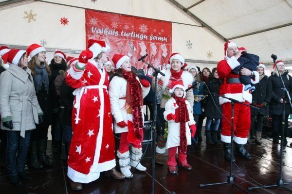 Gausios šeimos pasitiko artėjančias šventes