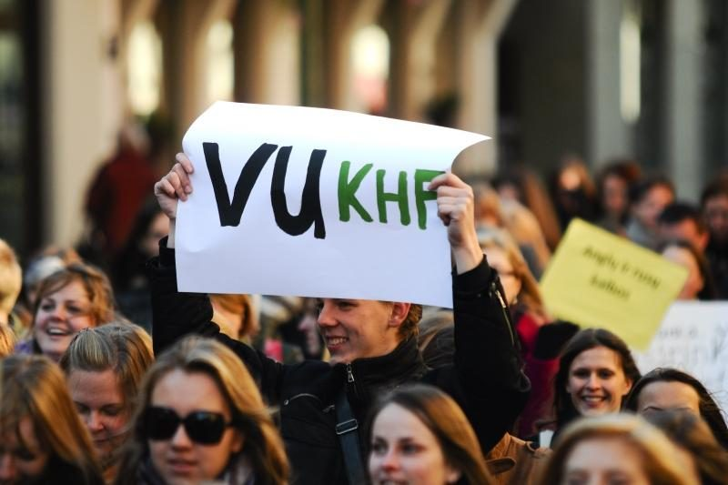 VU Kauno humanitarinio fakulteto studentai kviečia į gimtadienį