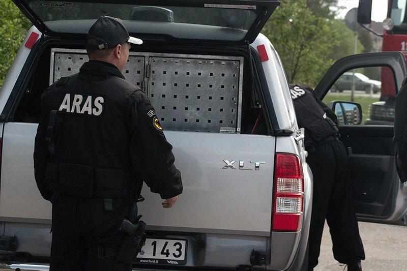 Gautas pranešimas dėl rasto sprogmens Kaune nepasitvirtino