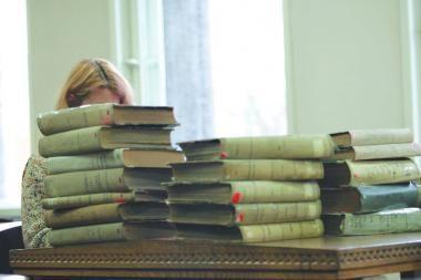 Pernai bibliotekose skaitomiausia lietuviška knyga buvo R.Granausko