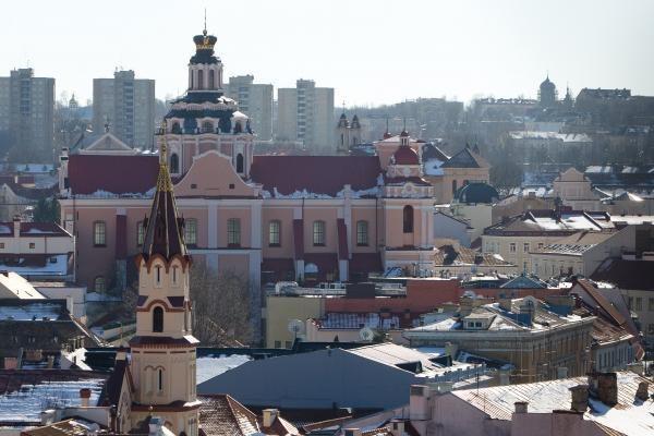 Šv.Jonų bažnyčios varpinės liftas veiks nuo balandžio vidurio