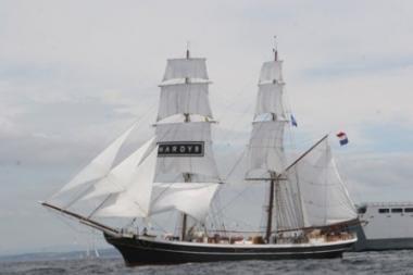 Lietuvos jaunimo įspūdžiai besiruošiant regatai
