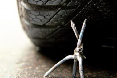 Vagys pasinaudojo vairuotojo rūpesčiais