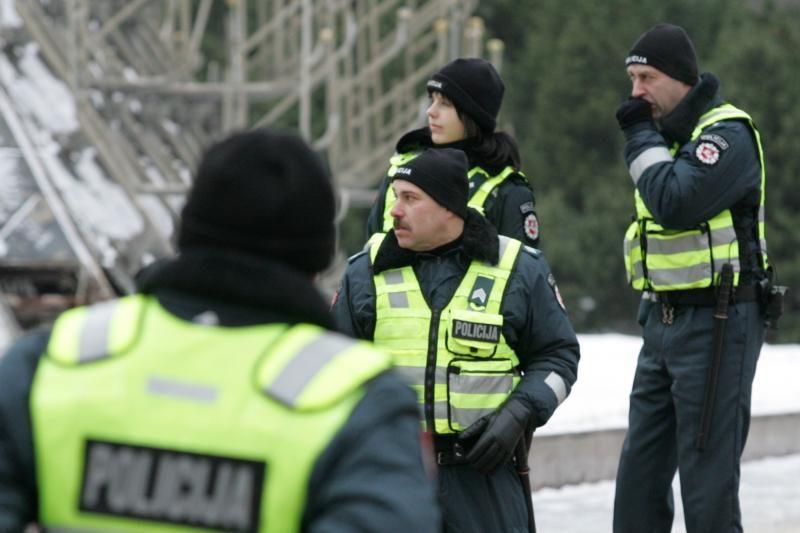 Pirmąją metų naktį dirbs gausesnės policijos pajėgos