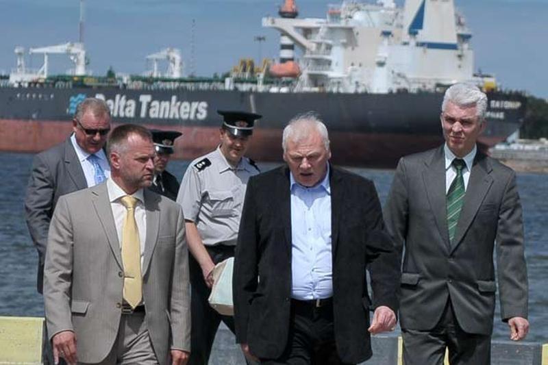 Ministrui pristatyta Pakrančių apsaugos rinktinės veikla
