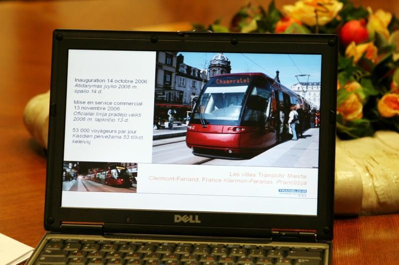 Vilniaus valdžiai – prancūziškas tramvajaus pasiūlymas