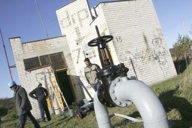 Kleboniškio gyventojai atsisako dujų vamzdyno