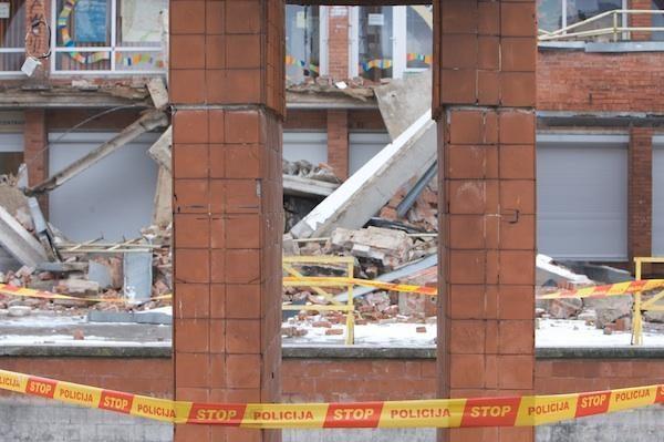 Griuvęs Šeškinės prekybos centras bus atstatytas