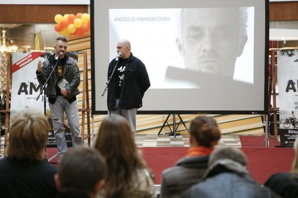 A.Mamontovas: į filmą
